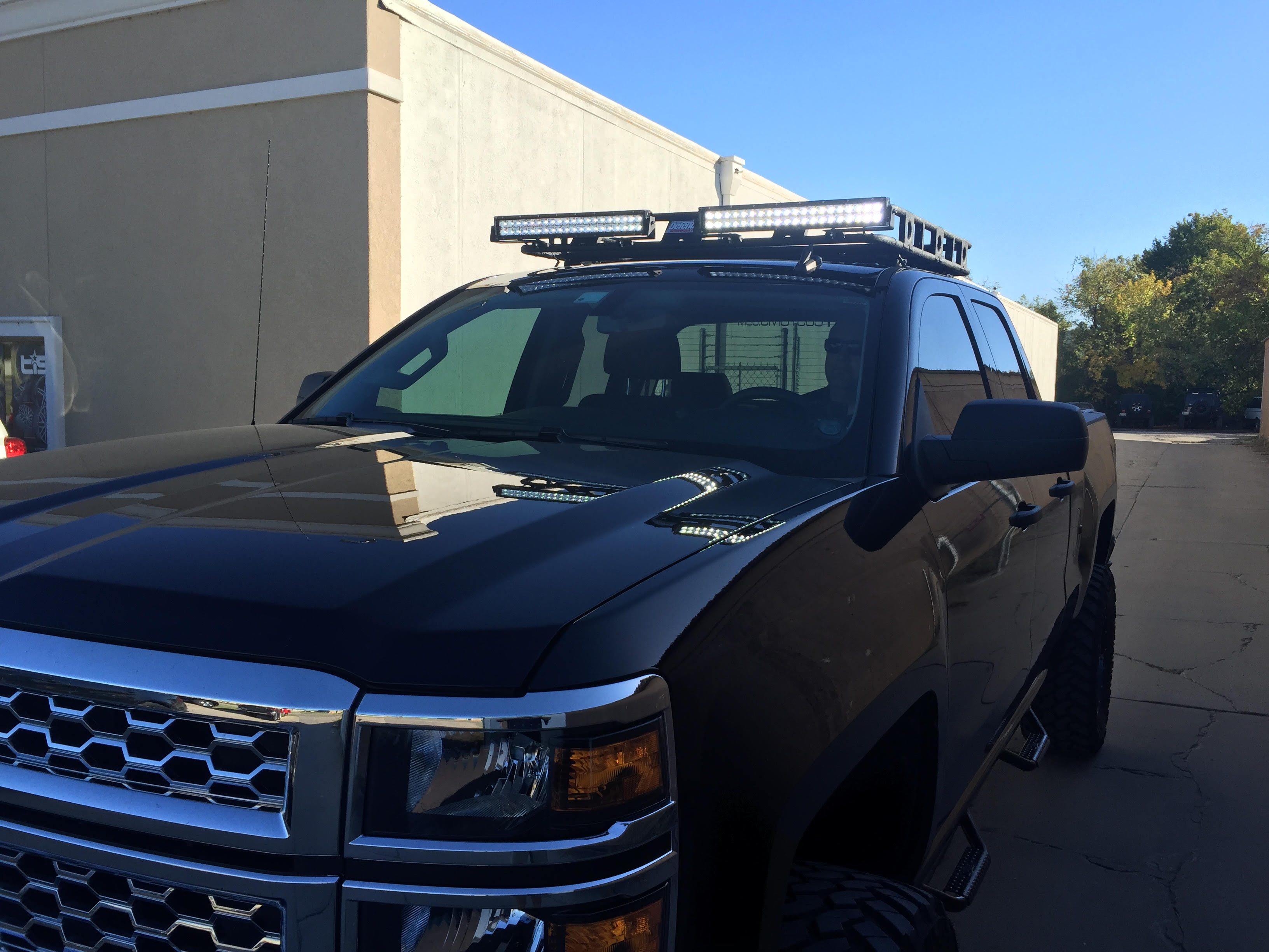 Silverado Roof Rack - Integrity Customs